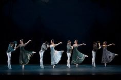 The Washington Ballet in Tudor's 'Lilac Garden' = - Photo by media4artists, Theo Kossenas