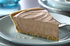 Frozen German Sweet Chocolate Pie recipe: The best chocolate pie ever, aside from French Silk.
