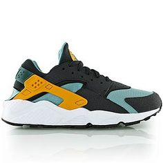 nike AIR HUARACHE catalina/gold/anthracite