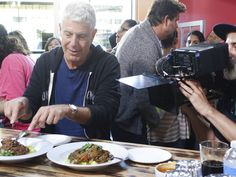 Anthony Bourdain Eats in San Francisco 'Parts Unknown' - Eater SF Anthony Bourdain San Francisco, Food Places, Places To Eat, Anthony Bordain, Anthony Michael, Anthony Bourdain Parts Unknown, Pork Spare Ribs, San Francisco Restaurants, Sf Restaurants