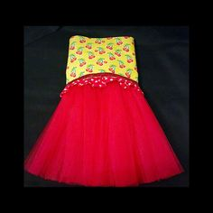 With A Cherry On Top Tutu Dress by SnortLife on Etsy
