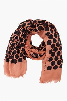 MARC JACOBS //    Nude Dot Scarf