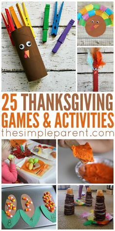 Try Thanksgiving Activities for Families and Make More Memories to Be Thankful For! Try these Thanksgiving Activities for Families and make more memories to be thankful for!