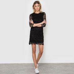 Glamour, Mi Long, Sweaters, Black, Dresses, Fashion, Little Black Dresses, Dress Ideas, Fashion Ideas