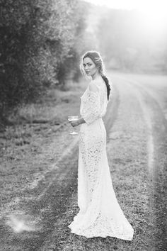 Jennifer Gifford Designs - Anya Gown Olive Grove Shoot