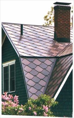 Copper Roofing Shingles   Paradigm Shingles, Inc.   I Wonder If Its Cheaper  Than The Slate Roof We Have Now... If/when The Day Comes I Need To Do U2026