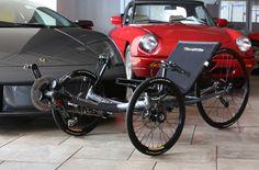 TerraTrike Sportster recumbent tricycle