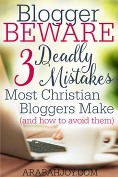 Are you making any of these deadly mistakes as a Christian blogger? These mindsets will hinder you from blogging effectively and strategically, for the glory of God. Click to see if you are being marginalized by one or more of them!