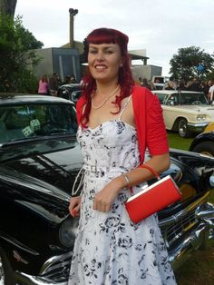Red hair rockabilly Beach hop Bettie bangs Rockabilly hair