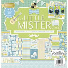 """Little Mister Paper Stack 12""""x12"""" - Click to enlarge"""