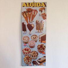 #WenderDeejay Wender Deejay: tabella gelati #algida #1979