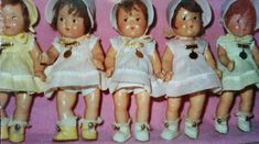 Madame alexander dolls Dionne quintuplets 7 and a half inch 1934  #Dolls
