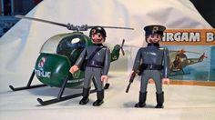 Helicóptero militar alemán airgam boys con caja y 2 figuras - Foto 1