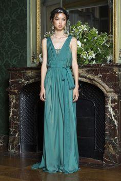 Alberta Ferretti Limited Edition Fall 2015 Couture Fashion Show - Baya Kolarikova (Elite)