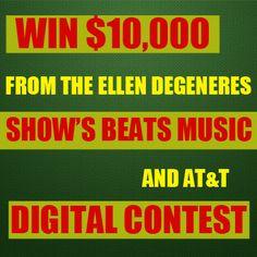 The Ellen DeGeneres Show: Win 10 Grand