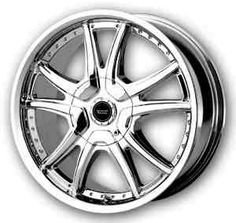 American Racing Alert CHrome wheels  http://www.thewheelconnection.com/