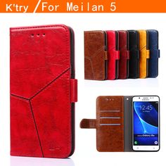 For Meizu M5 Case Cover 5.2 Inch Magnetic Luxury PU Leather Wallet Flip Phone Bag Cases For Meizu M5 Meilan 5 Card Holder K'try