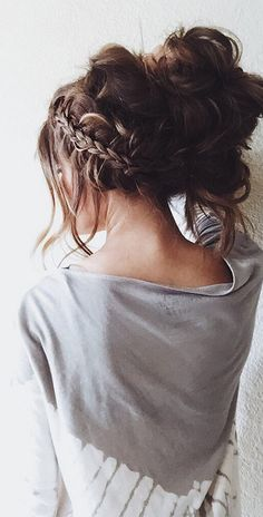 wanna give your hair a new look? Short messy hairstyles is a good choice for you. Here you will find some super sexy Short messy hairstyles, Find the best one for you, My Hairstyle, Pretty Hairstyles, Braided Hairstyles, Hairstyles 2016, Beautiful Haircuts, Popular Hairstyles, Hairstyle Ideas, Hairstyle Tutorials, Casual Hairstyles