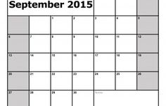 Printable September 2015 Calendar - free download from MavenShopper.com. Get our simple and useful monthly calendar, available for print right here. http://printable-calendar.mavenshopper.com/