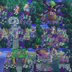 New Leaf QR Codes — raspberry-crossing: Florence ♡ I. Animal Crossing 3ds, Animal Crossing Qr Codes Clothes, Animal Games, My Animal, Acnl Paths, Motif Acnl, Ac New Leaf, Happy Home Designer, Landscape Pictures