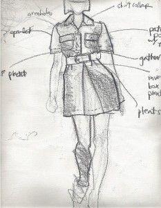 Laura Volpintesta, Original Design, Quick Sketch Fashion ...