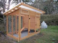 Learn how to build this chicken coop!