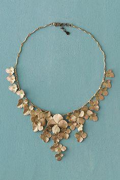 Michael Michaud Hydrangea Petal Necklace
