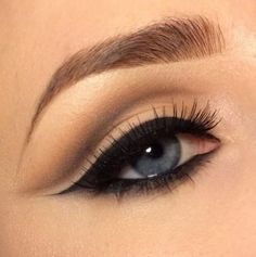 chicks look simple with a brown eyebrow for beauty