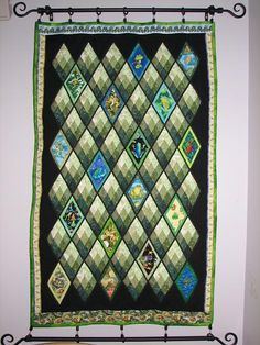 A gallery of all my quilts, with the most recent first. (updated every few months - last update Information provided: Quilt num. Sampaguita, Photo Quilts, Contemporary Quilts, Quilt Patterns, Advent Calendar, Holiday Decor, Gallery, Fabric, Frogs