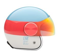 To put on a rose tinted glass / only the sky is limit / Lacoste L!VE helmet / by creative agency boxclever: http://bxclvr.com/