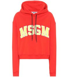 MSGM Cotton hoodie. #msgm #cloth #