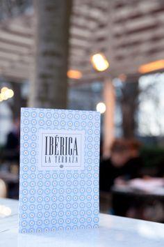 Ibérica La Terraza branding Al Fresco Dining, Tapas, Letter Board, Branding, Lettering, Brand Management, Drawing Letters, Identity Branding, Brush Lettering
