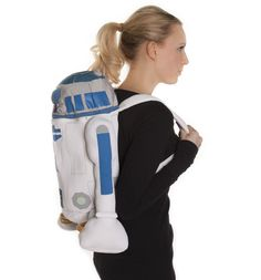 Star Wars R2D2 Back Buddy Plush Back Pack Take your robotic friend R2-D2 out with you every day with this awesome new, official Star Wars backpack. He can make boring chores much more fun, shopping, school, the gym will never be the same agai http://www.comparestoreprices.co.uk/novelty-gifts/star-wars-r2d2-back-buddy-plush-back-pack.asp