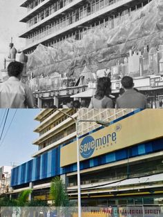 Dito, Noon: COD Cubao 1970s x SM Savemore Araneta 2020 #kasaysayan Alex Rosario Sr. started the Manila COD in 1948 in Avenida, Manila. In 1957, they began the moving Christmas displays which continued when the store launched their bigger branch in Cubao in 1966. The tradition was handed over to the Greenhills Commercial Complex when the store ceased operations in 2002. The old Cubao site became a Puregold Supermarket before becoming an SM Savemore grocery store. Commercial Complex, Christmas Displays, Holiday Themes, Present Day, Department Store, Manila, Grocery Store, Cod, Philippines