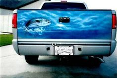 Tailgate Airbrushed Murals