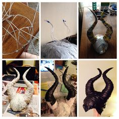 Maleficent horns http://www.instructables.com/id/Leather-Wrapped-Maleficent-Horns/?ALLSTEPS
