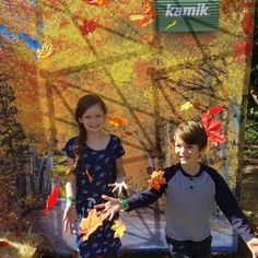 Thank you @kamikofficial for a family fun day! #AD It was so nice to get a sneak peak at this season's boots. #kamikstepoutside #fall #fallleaves #family #kids #boots #microfashion #igfall #bosblogger #familyfun #autumn #lifeisgood #smile #leafthrowing #fall2017 #fallfashion