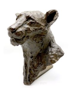 Simba Jike - Bronze Sophie Gérault - www.sofy-sculptures.net