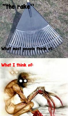 *looks at first picture* A rake? *Second pic* oh...THE Rake