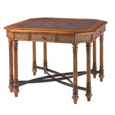Tommy Bahama Home Island Estates Samba Card Table Finally, something I like for its stated use, a high card table. Goes with these barstools http://www.wayfair.com/Tommy-Bahama-Home-Island-Estate-Barstool-01-0531-815-01-TBL1593.html