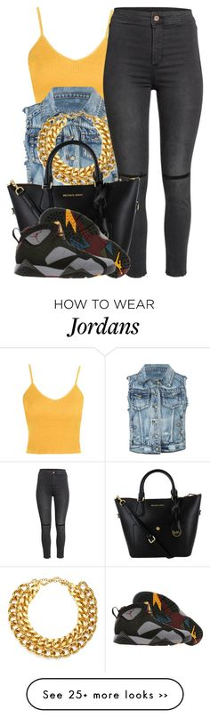 """""""9 7 15"""" by miizz-starburst on Polyvore featuring Topshop, ...Lost, A.V. Max and H&M"""