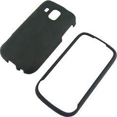 Black Rubberized Protector Case for Samsung Transform Ultra M930 $0.05