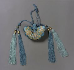 Purse Chinese, Qing dynasty, 1870–80