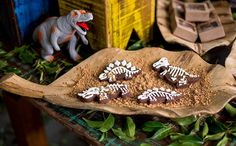 Festa infantil com o tema de dinossauros no 'Fazendo a Festa' - Fazendo a Festa - GNT