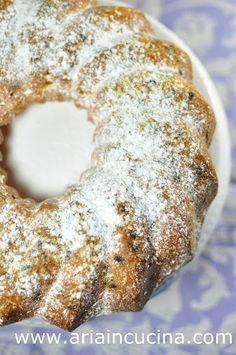 Blog di cucina di Aria: Ciambellone alla zucca con olio d'oliva e gocce di cioccolato