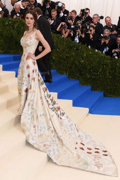 Met Gala. I would like to know who the designer of this beautiful dress is.