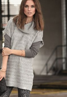 <3 Pullover, Fashion News, Winter Fashion, Sweaters, Dresses, Women, Winter Fashion Looks, Vestidos, Sweater