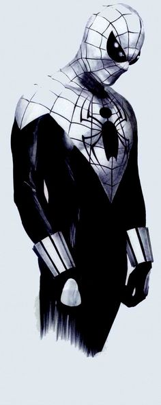 Spider Man by Alex Ross. Very different, very cool.