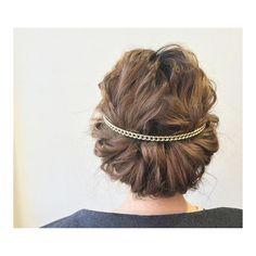 シンプルギブソンタックに バックカチューシャをポイントに  #ヘアアレンジ#ヘアセット#パーティーヘア#ギブソンタック#バックカチューシャ#シンプルヘア#ヘアスタイル#髪型#アレンジヘア#美容師#美容室#ふじみ野#REPLAYふじみ野#REPLAY#リプレイ #hair#hairarrange#hairstyle#arrange