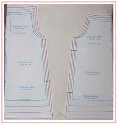 Pillowcase Dress Tutorial (using pillowcases) and free pattern from size 6 mo - 6 yr.                                                                                                                                                                                 More